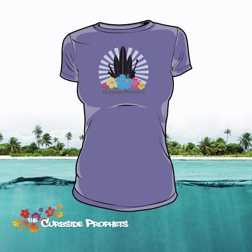 T-Shirt Ladies - Lila